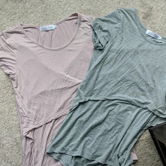 cf224b6b4b1 Latched Mama Tops - Latched Mama nursing shirts
